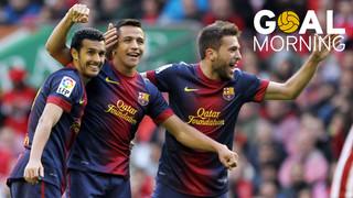 Goal Morning: Alexis Sánchez vs Llevant