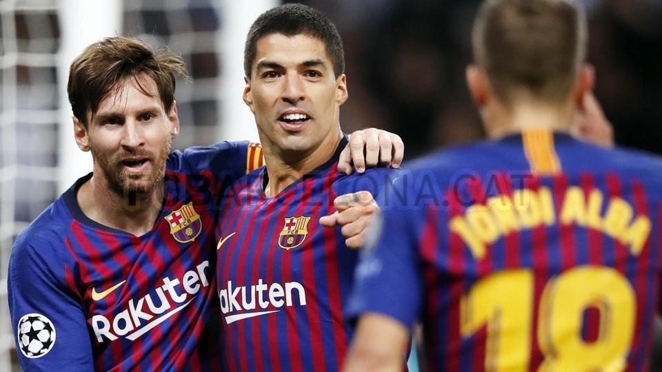 صور مباراة : توتنهام - برشلونة 2-4 ( 03-10-2018 )  100686493