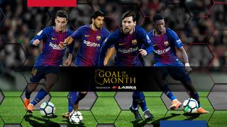 Hem escollit els cinc millors gols del mes perquè votis i decideixis quin és el millor!