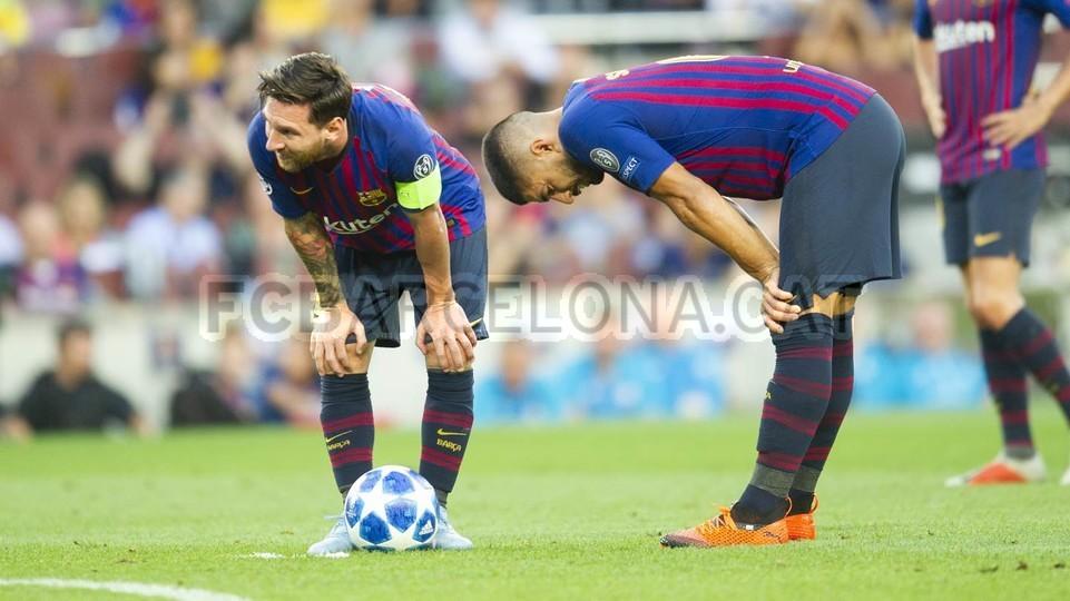 صور مباراة : برشلونة - PSV إندهوفن 4-0 ( 18-09-2018 )  98884254