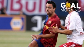 Goal Morning! Xavi Hernàndez's goal in the U.S.A...