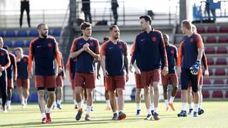 El tècnic Ernesto Valverde ha convocat a tota la plantilla per afrontar la final de Copa del Rei de dissabte (21.30 hores) contra el Sevilla al Wanda Metropolitano