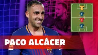 My Top 4: Paco Alcácer desvela els seus referents