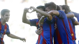 Top five La Masia goals from the weekend 17-18 June