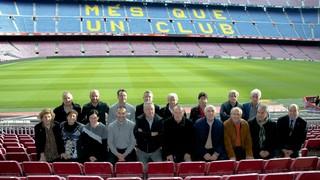 Una vintena de representants de l'Agrupació a les penyes blaugranes ha pres part de la tercera edició de la formació