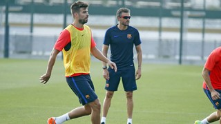 Gerard Piqué says Luis Enrique deserves a great final send off