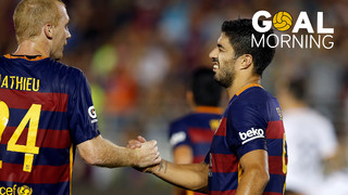 Goal Morning: Luis Suárez vs LA Galaxy! #BarçaUSTour