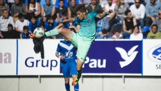 Badalona 0 - FC Barcelona B 2
