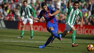 Betis 1 - FC Barcelona 1 (1 minute)