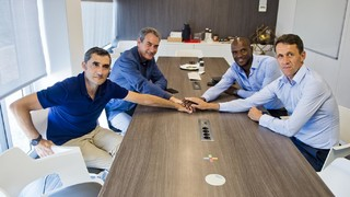 Technical meeting at the Ciutat Esportiva