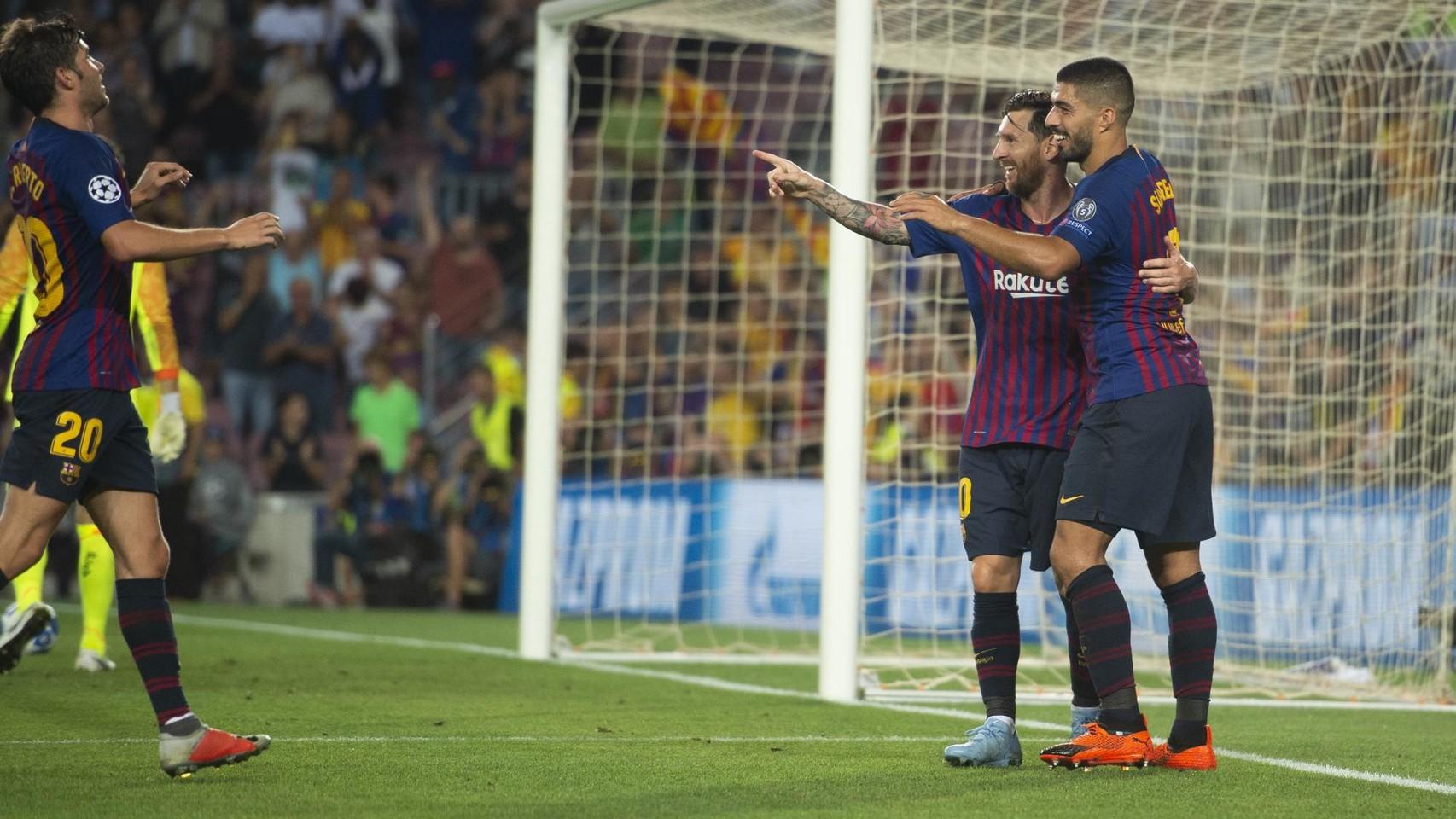 صور مباراة : برشلونة - PSV إندهوفن 4-0 ( 18-09-2018 )  98901664