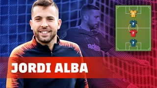 My Top 4: Jordi Alba picks his football heroes