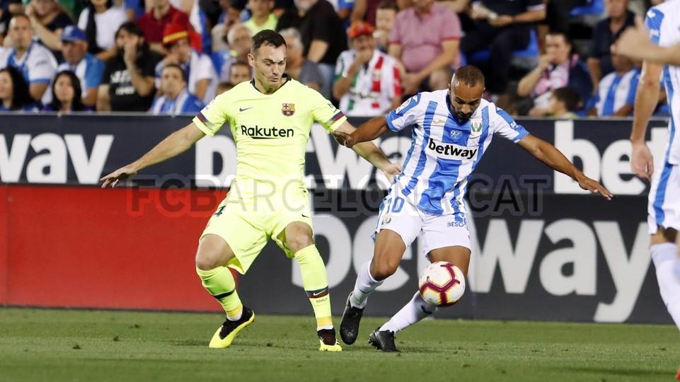 صور مباراة : ليغانيس - برشلونة 2-1 ( 26-09-2018 ) 99772833