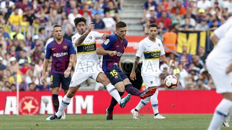 صور مباراة : برشلونة - بوكا جونيورز ( 16-08-2018 )  95975073