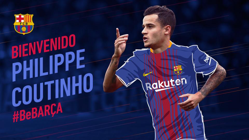 Coutinho ya es nuevo jugador del Barça | FCB
