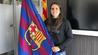 Andrea Pereira se incorpora al Barça Femenino