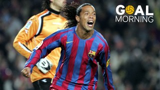 Goal Morning! Ronaldinho is TOP...
