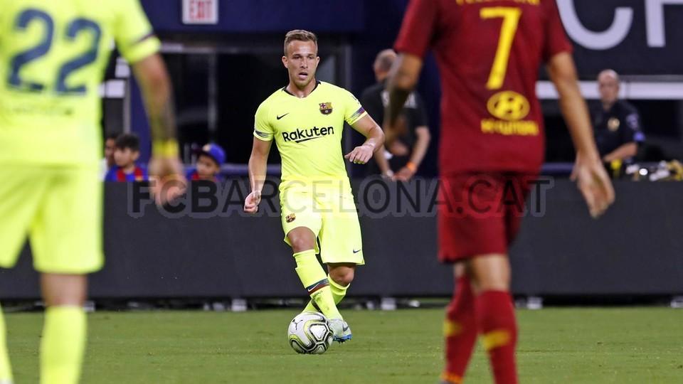 صور مباراة : برشلونة - روما 4-2 ( 01-08-2018 )  95179938