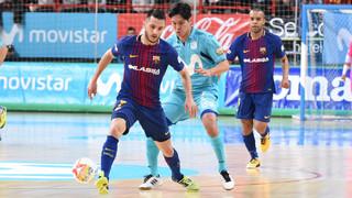 Movistar Inter - Barça Lassa: Reacción de carácter (4-4)