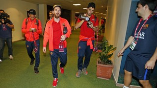 Inside view of FC Barcelona's 24 hours in Doha
