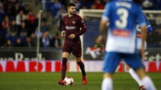 RCD Espanyol 1 - FC Barcelona 0 (3 minutes)