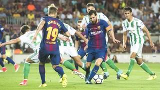 FC Barcelona - Betis (1 minute)