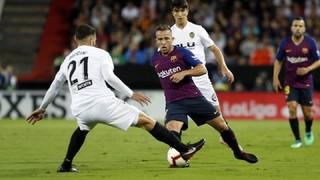València 1 - FC Barcelona (3 minuts)