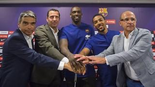 Rakim Sanders i Phil Pressey nous jugadors del FC Barcelona Lassa