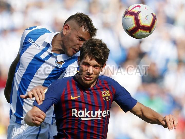 صور مباراة : ريال سوسيداد - برشلونة 1-2 ( 15-09-2018 ) 98623908