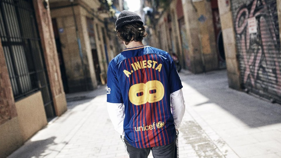 Camiseta FC Barcelona A.iniesta