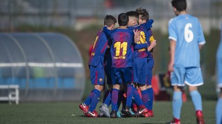 FCB Masia - Academy: Top 5 goals (13 - 14 January)