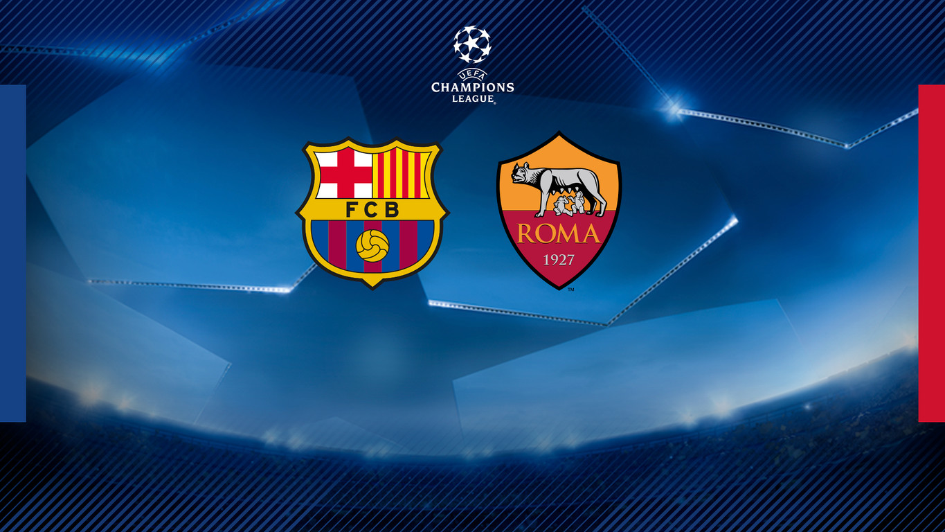 FC Barcelona will face the Italians in the first leg at Camp Nou on Wednesday 4 April with the return at the Stadio Olimpico on Tuesday 10 April