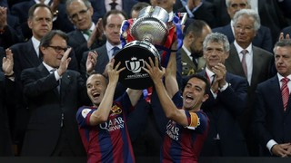 Athletic Club 1 - FC Barcelona 3 (Copa del Rey 2014-15)