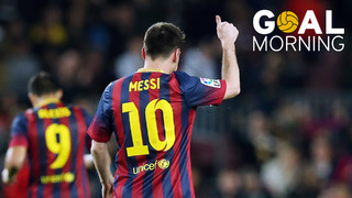 Goal Morning! What a goal from Leo Messi against Athletic Club!