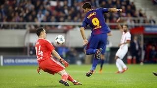 Olympiacos 0 - FC Barcelona 0