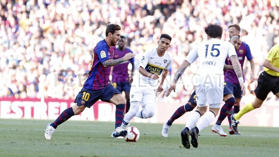 صور مباراة : برشلونة - بوكا جونيورز ( 16-08-2018 )  95974310