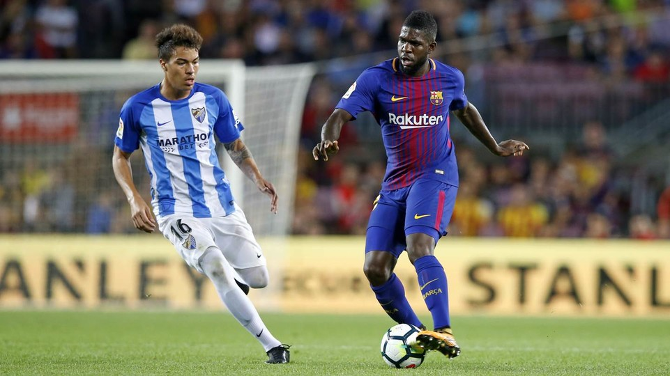 Maillot THIRD FC Barcelona Umtiti