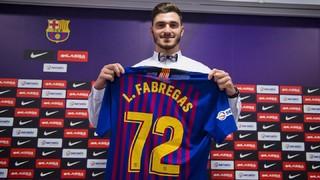 """Ludovic Fàbregas: """"Jugar al Barça és un somni per a mi i la meva família"""""""