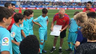 Aleví A – Sevilla: Victòria als penals i classificats per a les semifinals (1-1, 4-3)