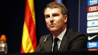 The technical secretary Robert Fernández confirms upcoming changes to FC Barcelona's first team squad and the Club's interest in Coutinho and Dembelé