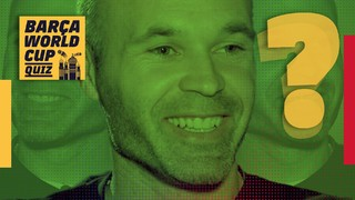 Andrés Iniesta's World Cup test