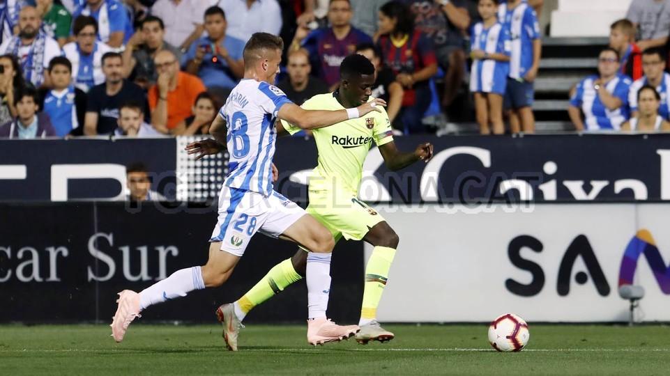صور مباراة : ليغانيس - برشلونة 2-1 ( 26-09-2018 ) 99772839