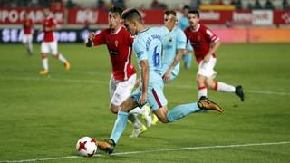 Múrcia 0 - FC Barcelona 3 (3 minutos)
