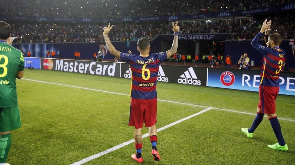 Maillot Domicile FC Barcelona Sergi Samper