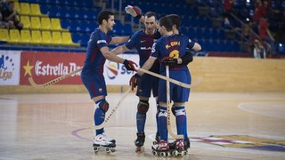 Barça Lassa cruises past Lloret at the Palau, 8-2