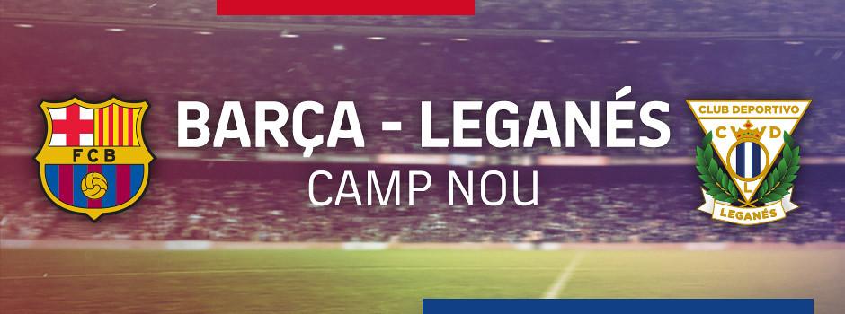 Official tickets FCB VS Leganes
