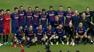 Mambas 0 - FC Barcelona Legends 1