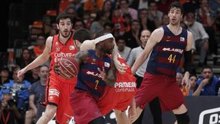 Valencia 76 - FC Barcelona Lassa 59 (ACB)