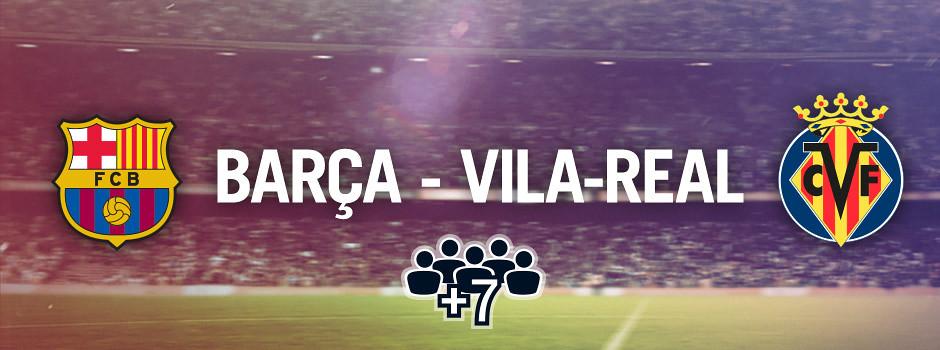 Entrades oficials per a grups Barça VS Vila-real