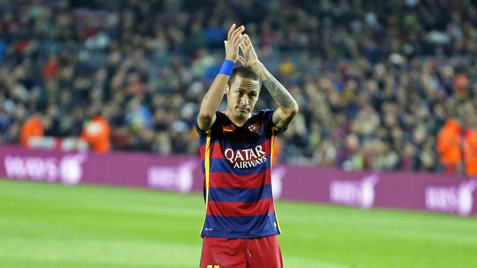 Fc Barcelona V Rayo Vallecano Neymar Bar 231 A Flip The
